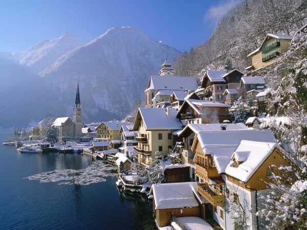 austrian lakeside