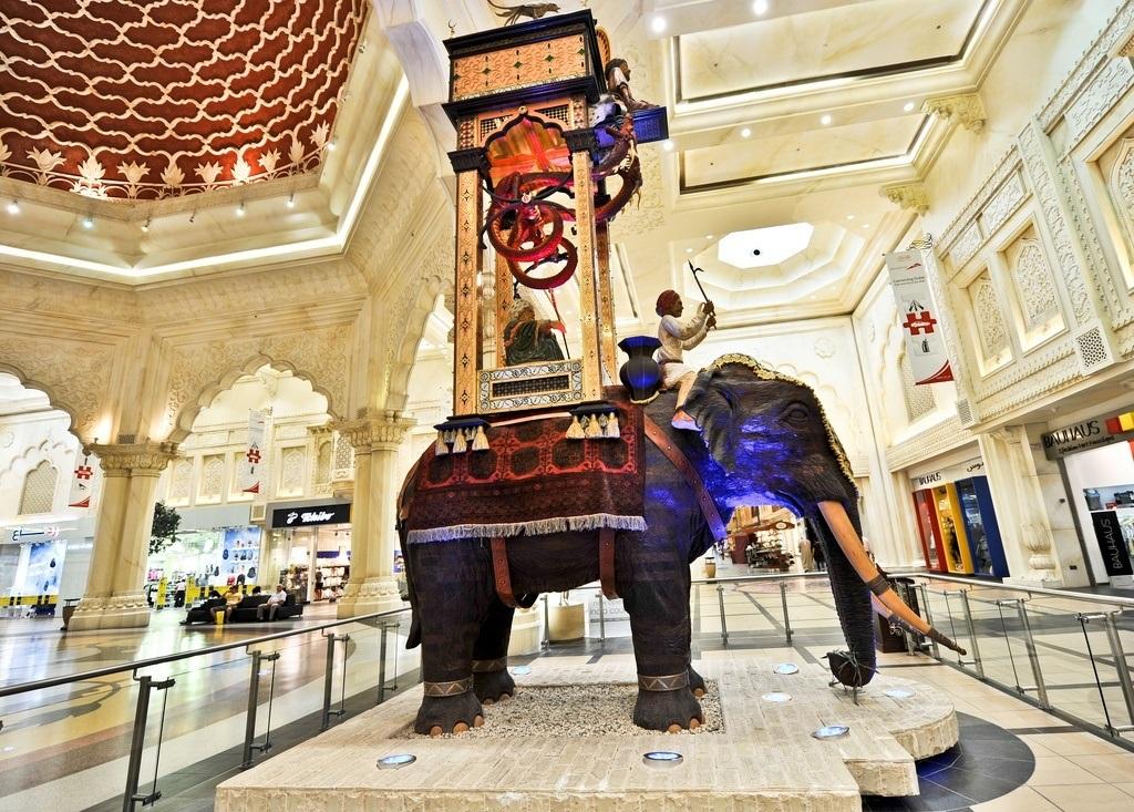 Elephant Clock at Ibn Battuta mall